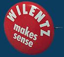 Wilentz Campaign Pin